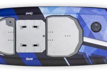 surf électrique Carver twin vue dessus