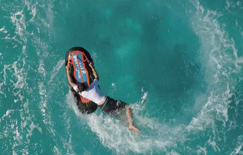 bodyboard asap virage drone
