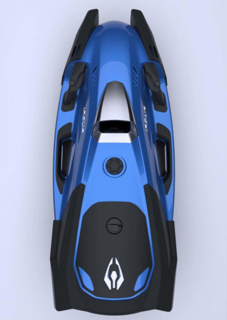 propulseur  sous marin iaqua seadart 720c bleu