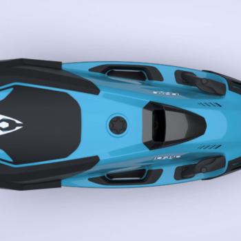 scooter sous-marin iaqua seadart 720s bleu
