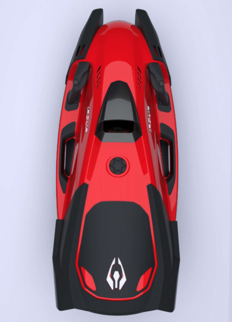 seascooter iaqua seadart 720s rouge