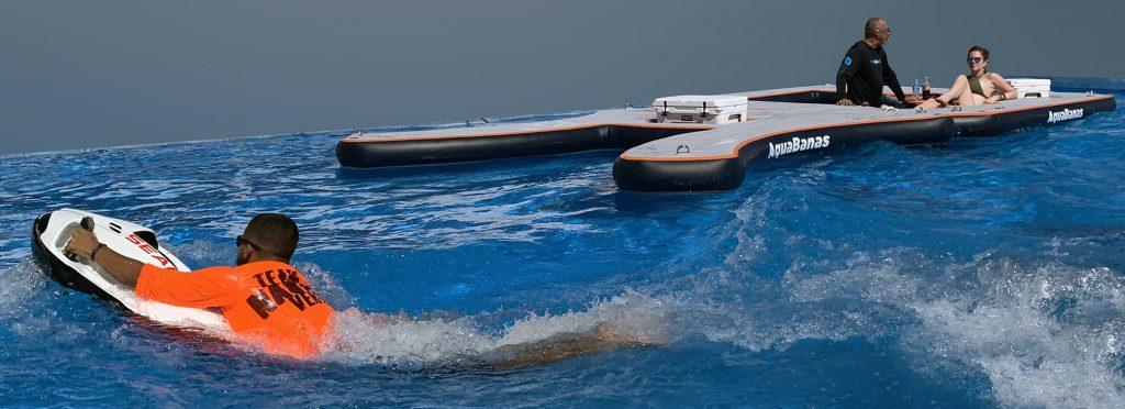Aquabanas swimup seabob
