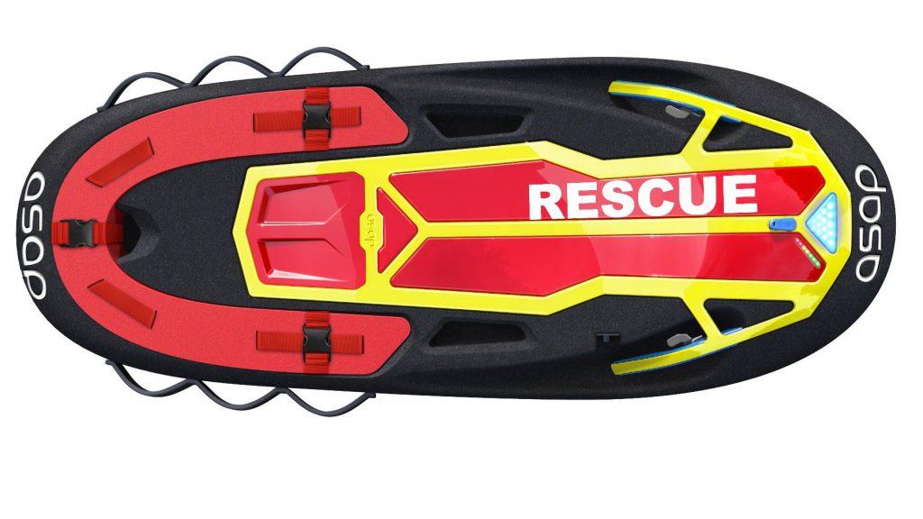 bodyboard electrique asap rescue 156 profil