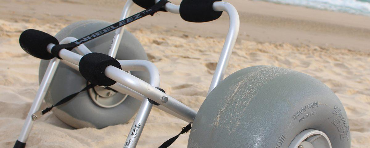 beachwheel chariot kayak ballon 30 b