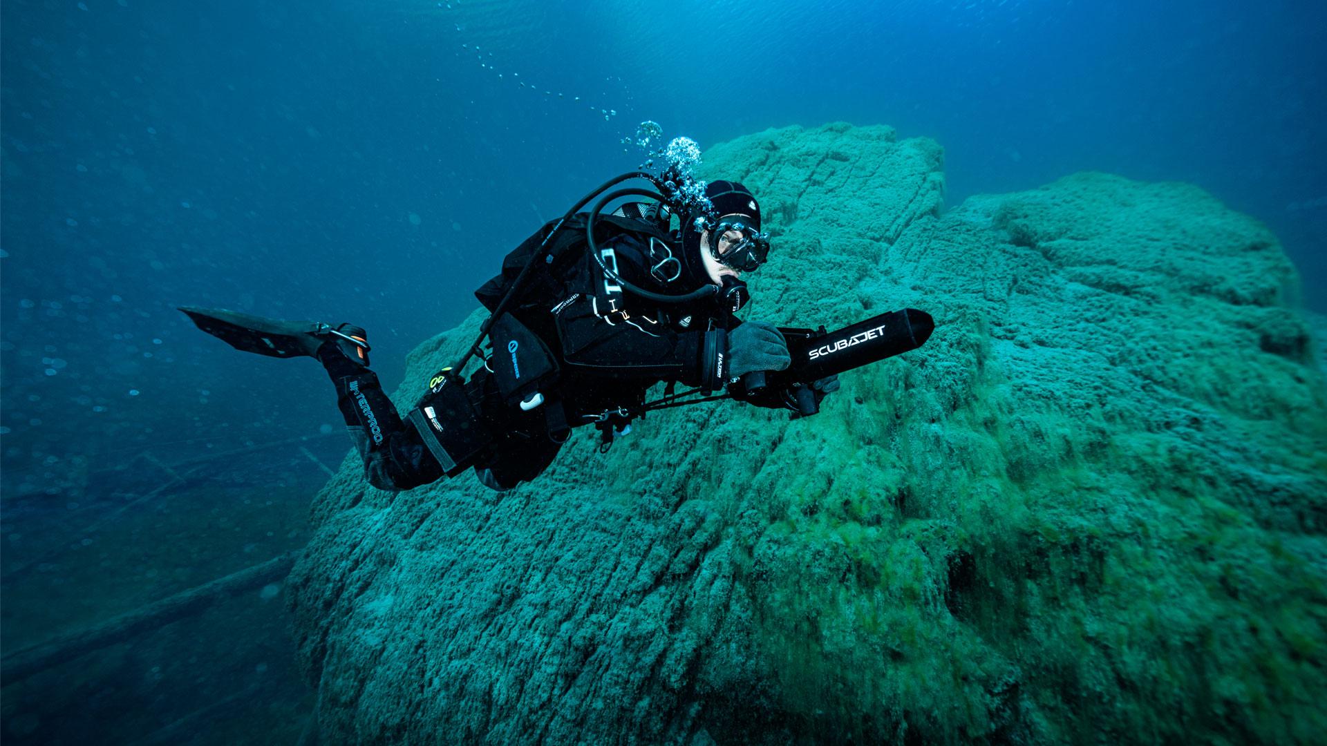 scubajet plongée action a