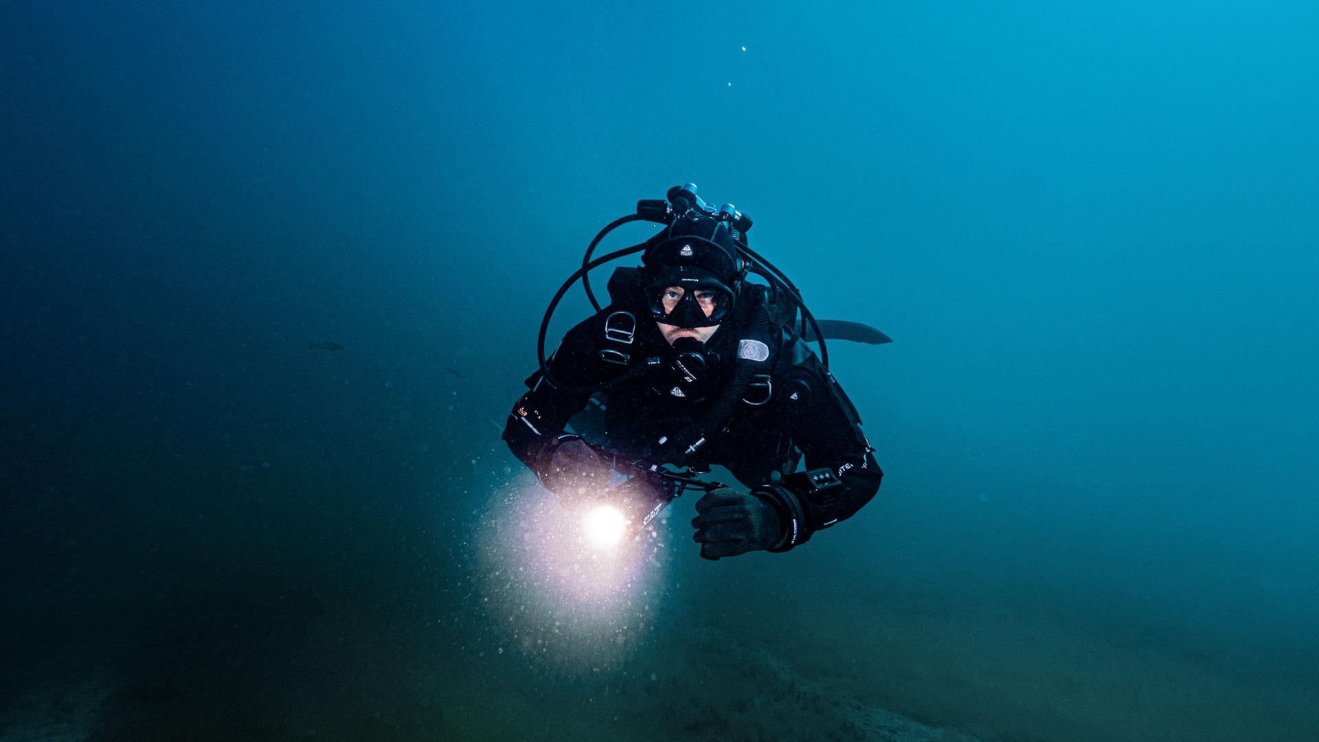 scubajet plongée action leds