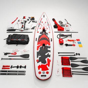 Kits Kayak Red Shark