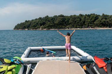 Yachtbeach 4.1 Plateforme & saut