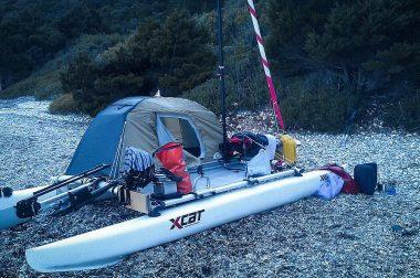 X-cat sail vista camping